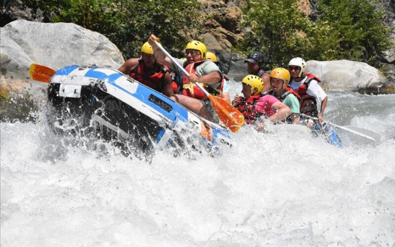 Rafting on Dalaman Stream